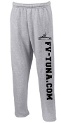 Sweatpants with tuna.com logo