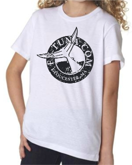 Kids t-shirt with round logo